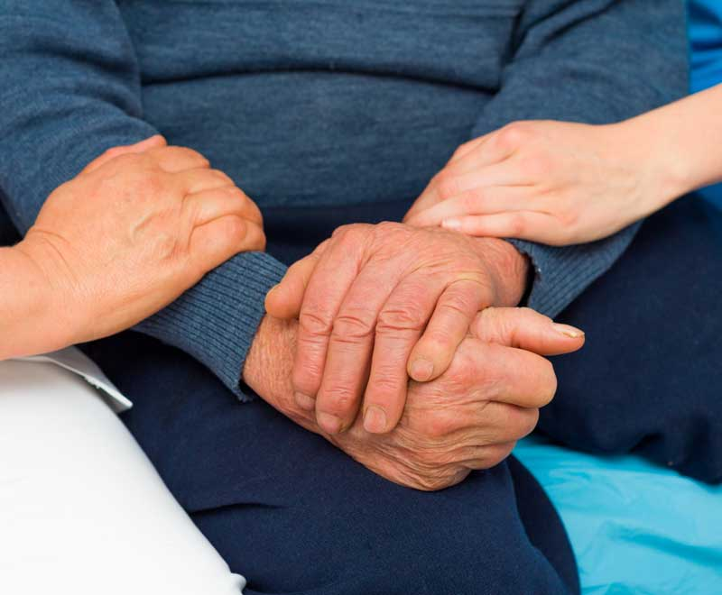 patient treated for neurological disorder